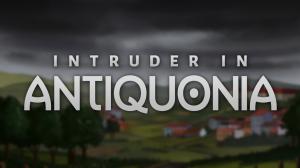 Intruder in Antiquonia Box Cover