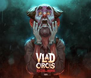 Vlad Circus: Descend into Madness Box Cover