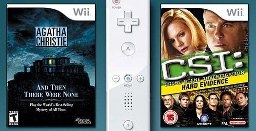 Wii ports: CSI and Agatha Christie