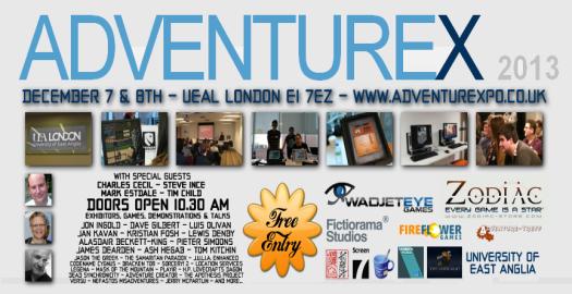 AdventureX 2013: Part One
