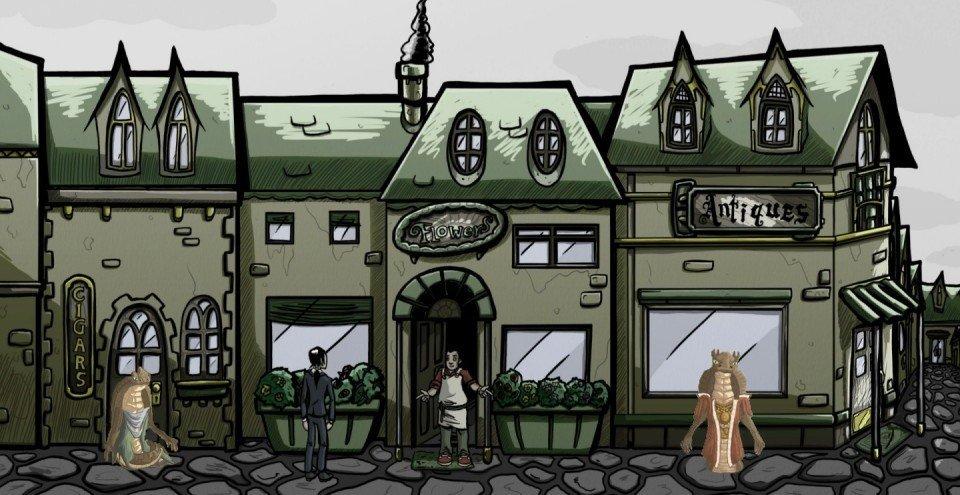 The Adventures in Storytelling: Unrest Shopkeeper