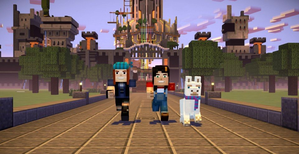 Minecraft Story Mode Season Two Review Adventure Gamers