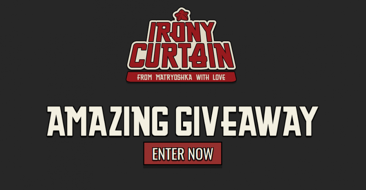 Irony Curtain giveaway