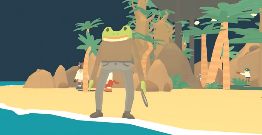The Haunted Island: A Frog Detective Game review