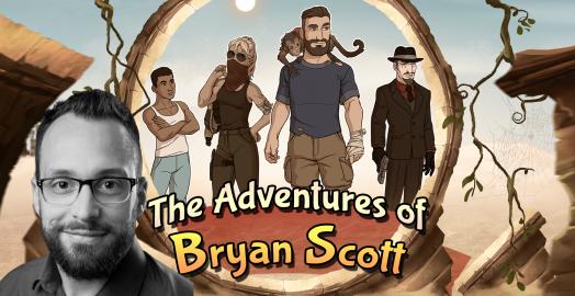 Tom Stossno – The Adventures of Bryan Scott interview